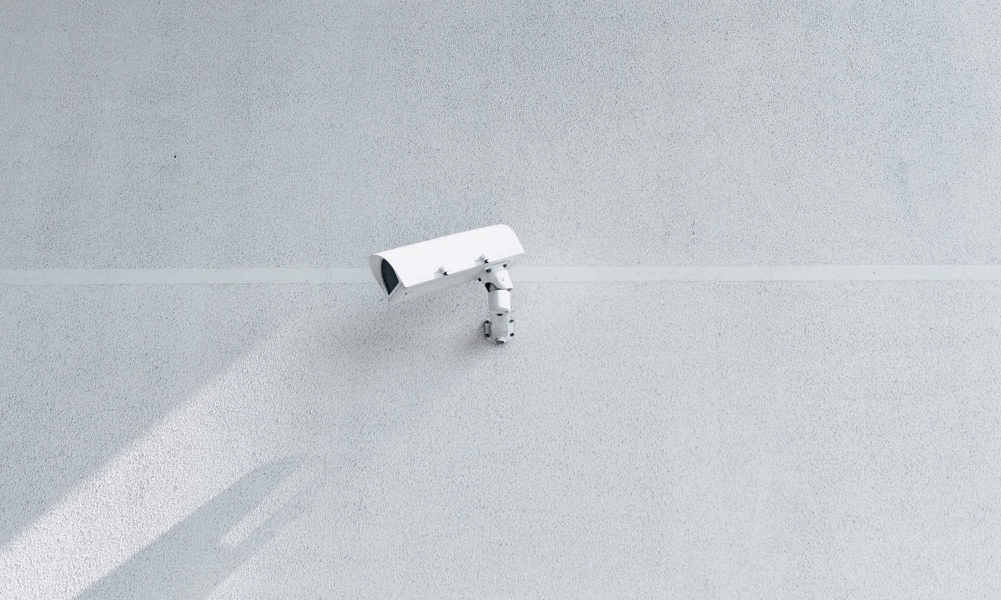 Camera on Wall
